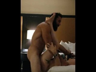 Bitch get fucked while calling room service
