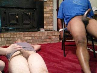 Tricked Wife Gets Revenge On Hubby And Friend – Bound And Blindfolded