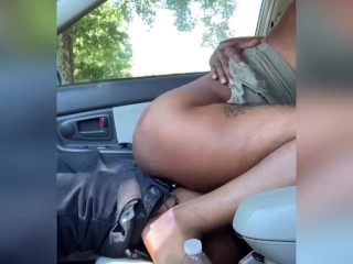 Fucking daddy and getting caught