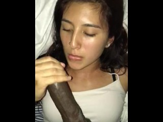 POV Latina Blowjob