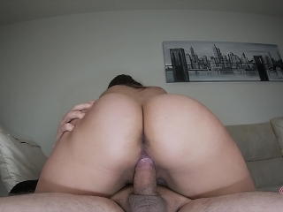 18yo Tight Pussy dripping warm Creampie Over his Balls !!! – Amateur Sex 4k