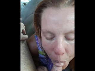 REAL Street Hooker Jessica 10/9/18 GREAT bbbj SWALLOWS my load!