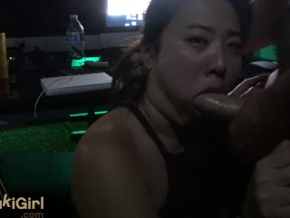 Under The Desk Blowjob FACIAL cumshot @sukisukigirlreal