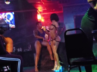 All nude stripper giving lap dance part 2
