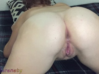 18 y/o girl he cant handle her tight pussy premature creampie in 5 minutes!