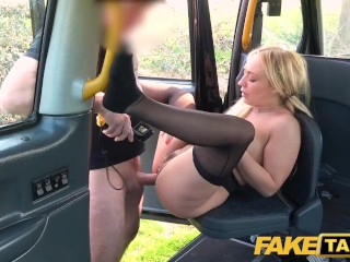 Fake Taxi Amber Deen gets a horny taxi fuck and a messy facial