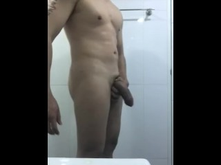 Jerking my 8 inch dick