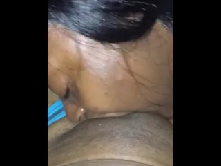Eating my supervisor pussy after work