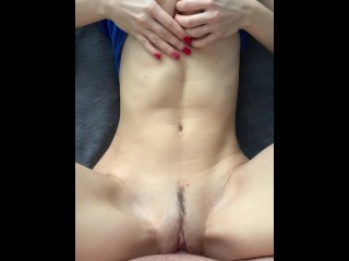 Petite Teen Loves To Get Her Pussy Filled With Cum