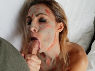Candycherry7-i'm a zombie, i fuck and suck for Halloween. Part 1 hd