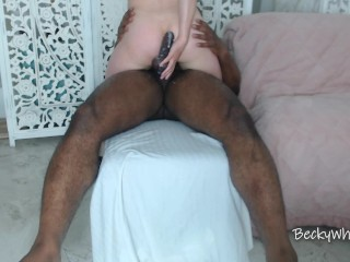 He TRIES To Hold The Cum In – I Help it OUT
