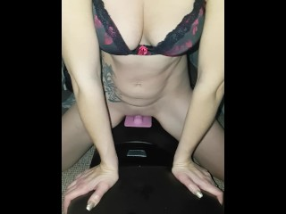 Trying my new Sybian for the first time