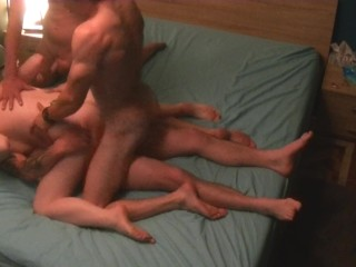 orgy dp vaginal /gang bang dp / double pénétration