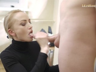 Lilu – Triple CumShot HandJob 10_Huge Ruined Facial