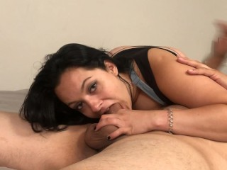 Rough Face Fuck. Gagging Amateur Sloppy Deepthroat. Milf Swallows Cum