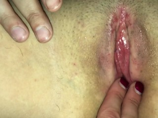 Pussy licking and rough fingering I hurt her