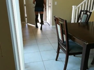Wife fucked by delivery guy (sound starts at 3:03 to protect identity)
