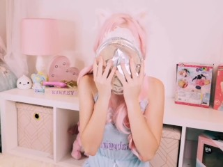 Belle Delphine gets huge dripping CREAMPIE